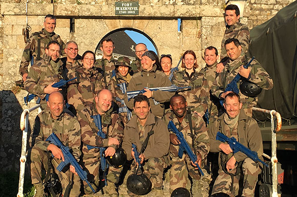 Executive MBA : fusiliers marins le temps d'un stage