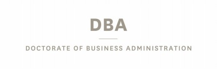 Doctorate of Business Administration (DBA)